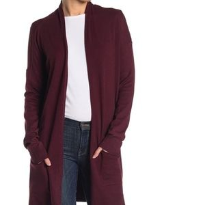 NWT Cyrus open front long knit cardigan sweater M